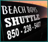 Beach Boys Shuttle and Taxi in Panama City Beach