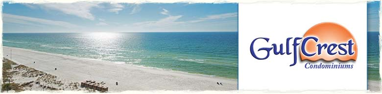 Gulf Crest Condominiums in Panama City Beach