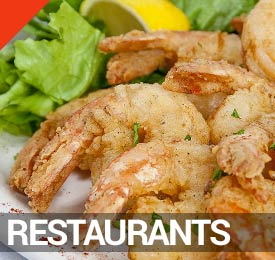Panama City Beach Restaurants on the Visitor's Map