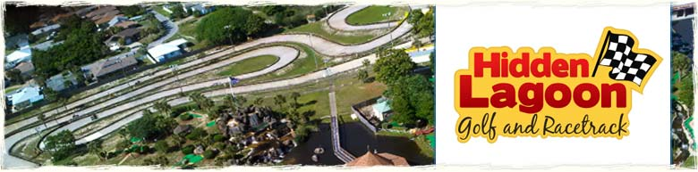 Hidden Lagoon Go Cart and Mini Golf in Panama City Beach