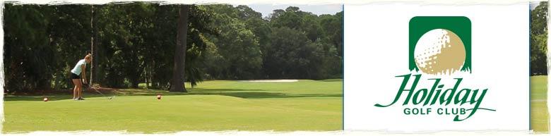 Holiday Golf Club in Panama City Beach, Florida