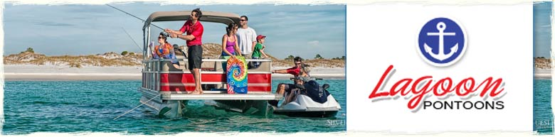 Lagoon Pontoon rentals in Panama City Beach