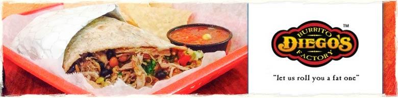 Panama City Beach Restaurant Diego's Burrito Factory