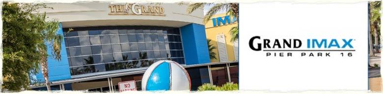 Grnad Imax in Pier Park Panama City Beach