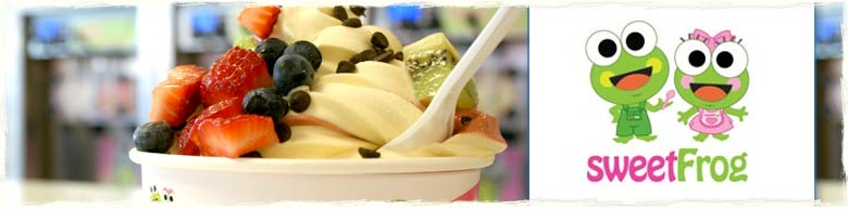 Sweet Frog in Pier Park Panama City Beach