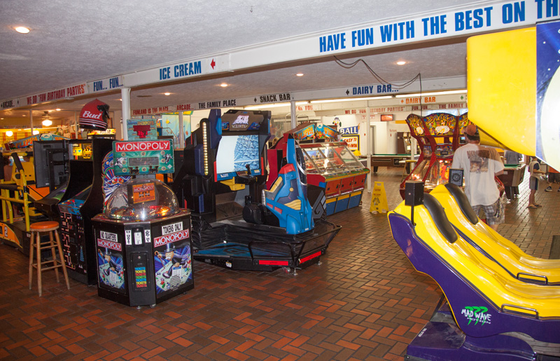 Fun Land Arcade Family Activity In Panama City Beach On