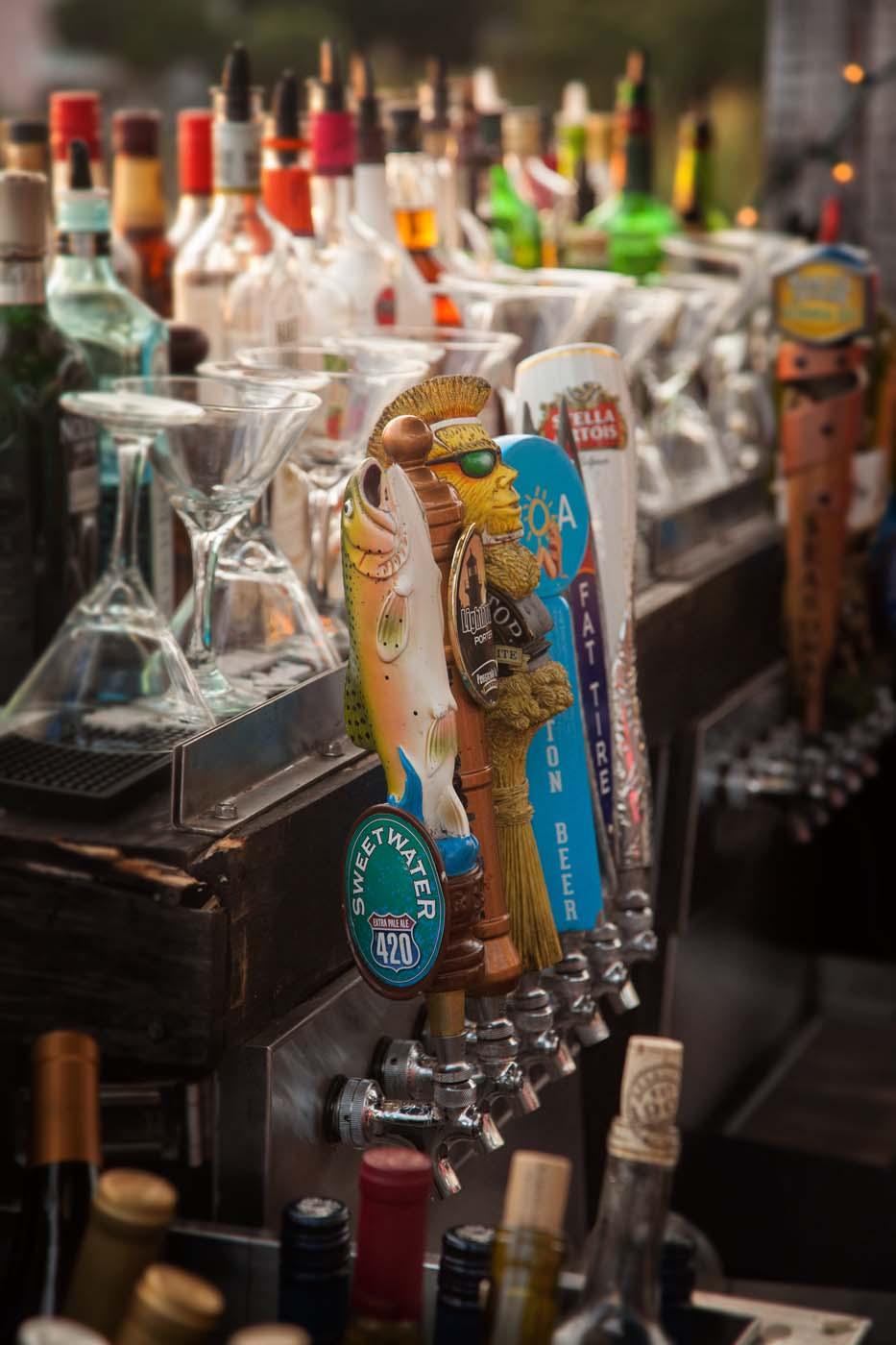 Uncle Ernies Sunset Martini Bar in Panama City, Florida