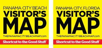 Panama City Beach Map Company's Visitor's Maps for Panama City Beach