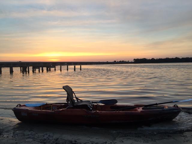 Canoe & Kayak Rentals in Panama City at Camp Helen State Park