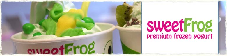 Sweet Frog Frozen Yogurt in Panama City Beach