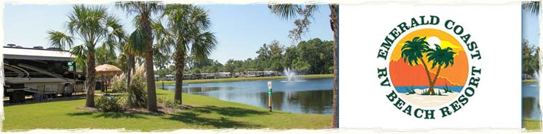 Emerald Coast Florida Map.Emerald Coast Rv Resort Panama City Beach Rv Parks On The Map
