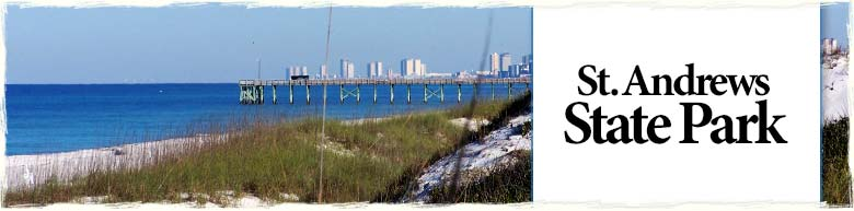 St. Andrews State Park in Panama City Beach