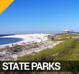 State Parks in Panama City Beach on the Visitor's Map
