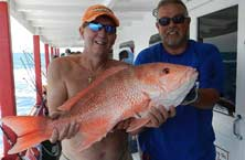 Deep Sea Fishing at the Capt Anderson's Marina