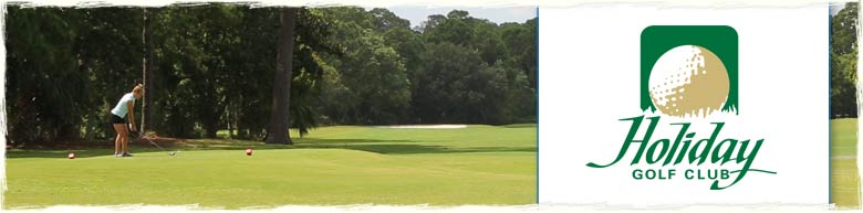 Holiday Golf Club in Panama City Beach, Florida