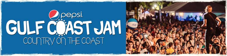 Pepsi Gulf Coast jam in Panama City Beac