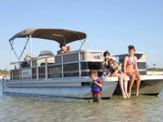 Lagoon Pontoon Rentals in Panama City Beach