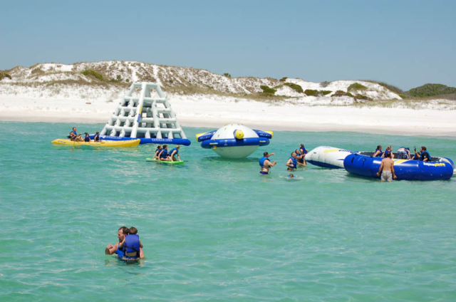 Paradise Adventures catamaran tours in Panama City Beach