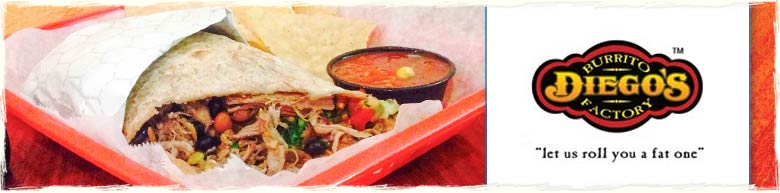Panama City Beach Restaurant Diego's Burrito Factory