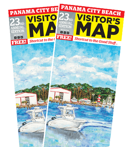 Order A Panama City Beach Visitors Map