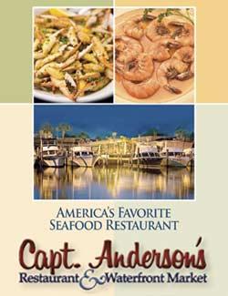 Captain Anderson's Restaurant in Panama City Beach, Florida