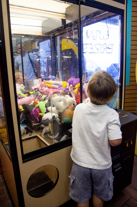 Fun Land Arcade in Panama City Beach, Florida