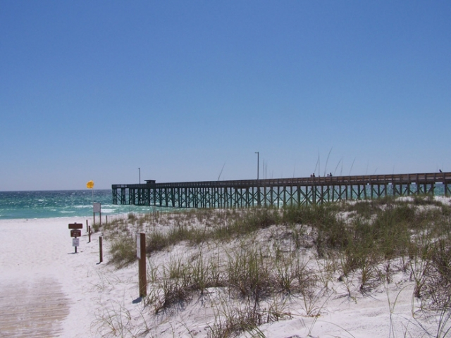 St. Andrews State Park in Panama City Beach, Florida