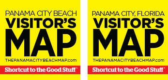 Panama City Beach Map Company's Visitor's Maps for Panama City Beach