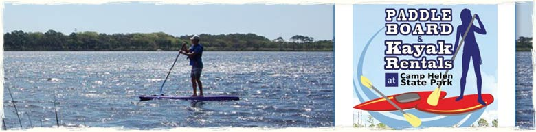 Canoe & Kayak Rentals in Panama City at Camp Helen State Park