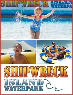 Shipwreck Island Water Park in Panama City Beach, Florida