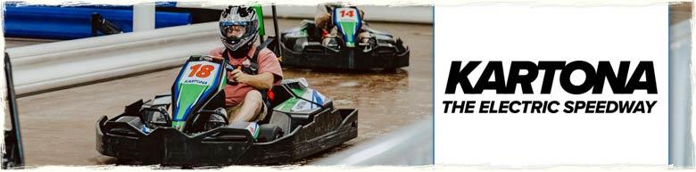 Kartona Electric Speedway in Panama City Beach Florida
