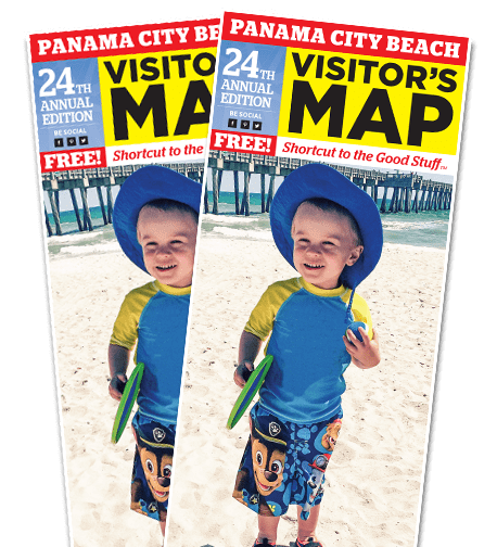 Panama City Beach Florida Map.Panama City Beach Map And Panama City Map The Visitor S Maps