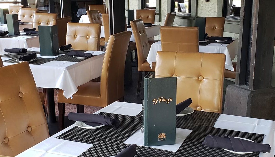 Fine dining at g. Foley's Restaurant in Panama City, Florida