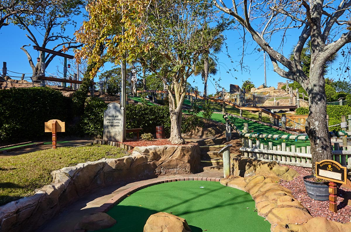 Pirate's Island Adventure Golf in Panama City Beach