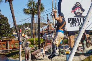 Pirate's Island Adventure Golf in Panama City Beach