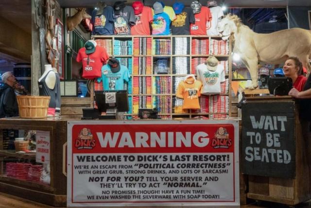 Dick's Last Resort in Panama City Beach, Florida