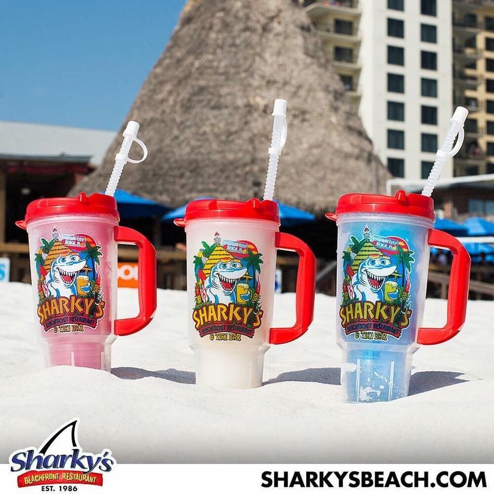 Sharky's Beachfront Restaurant in Panama City Beach, Florida