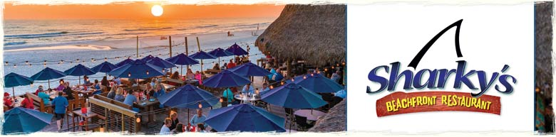 Sharky's Restaurant in Panama City Beach. Florida