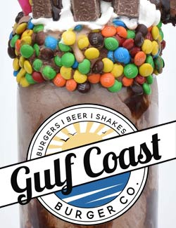Gulf Coast Burger Restaurant in Panama City Beach, Florida