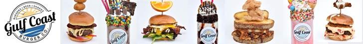 Gulf Coast Burger Restaurant in Panama City Beach, Florida