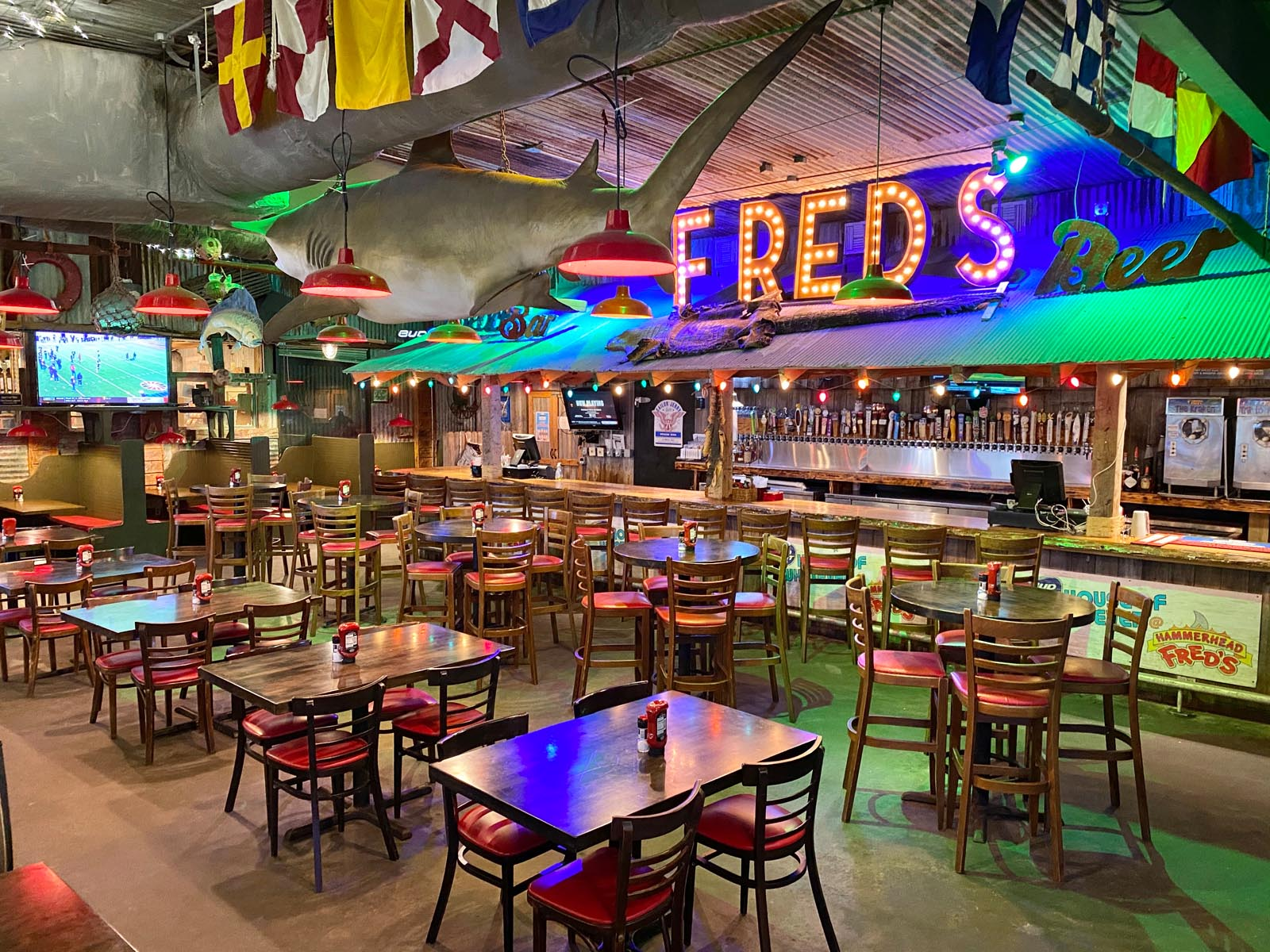 Hammerhead Fred's Restaurant in Panama City Beach, Florida