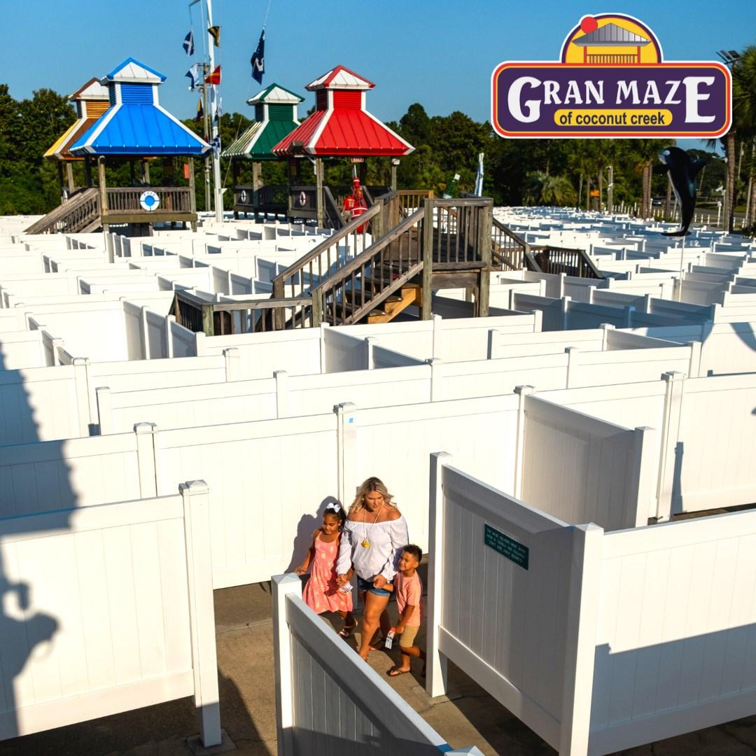 Coconut Creek and Gran Maze in Panama City Beach, Florida